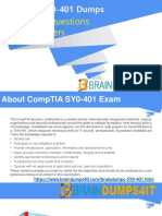 SY0-401 Braindumps
