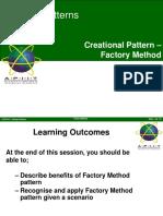 05-2 Creational Pattern - Factory Method