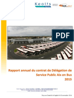 Rapport d'activités 2015 Keolis Aix en Bus