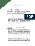Analisis Tindakan Pap Smear