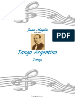 Maglio Juan Pacho Tango Argentino 29247