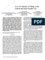 Effective Ways to Use Internet of Things in the field of medical and Smart Health care.pdf