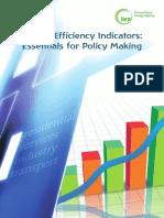 IEA EnergyEfficiencyIndicators EssentialsforPolicyMaking