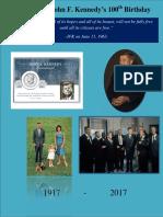 President John F. Kennedy's 100th Birthday (1917-2017)
