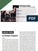 Revue de presse Le Porteur Dhistoire