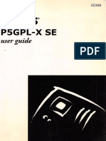 Asus P5GPL-X SE Manual Placa Madre