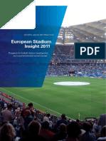 European Stadium Insight 2011 Eng