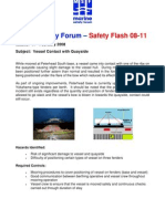 Msf Safety Flash 08.11