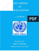 Peace Keeping in UN