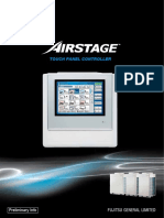Airstage Touch Panel Controller