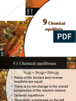 Chemistry Ch09 Chemical Equilibria