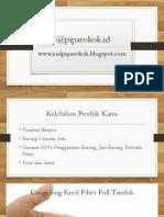 Pipa Rokok Original Asli