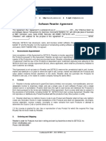 3 SETECS Software Reseller Agreement