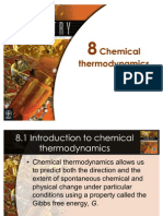 Chemistry-Ch08 Chemical Thermodynamic