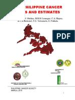 2010 Philippine Cancer Facts Estimates