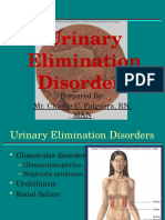 Urinary Elimination Disorders