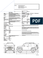 2007 Toyota Fj Cruiser Specification Sheet
