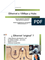 Tema1  Ethernet  de Universidad de Navarra
