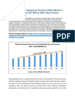 Global Computer Numerical Controls (CNC) Market, Trend and Forecast, 2015-2024