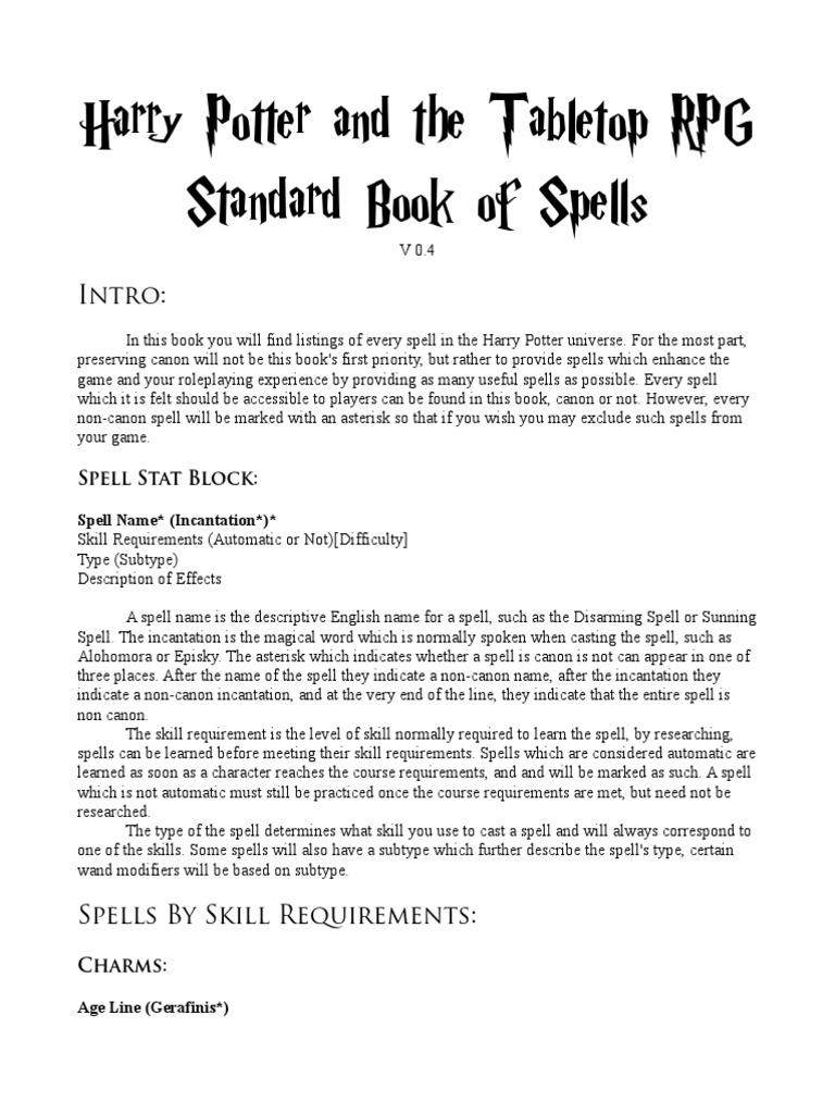 Spells | Mythological Powers | Magic (Paranormal)