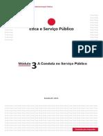 Módulo 3 - A conduta no Serviço Público