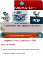 Roda Gigi Lurus Dan Rack