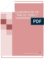 PAN DE YEMA Y KARAMANDUKA