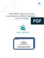 Propuesta Final - Proyecto Learn Travelling
