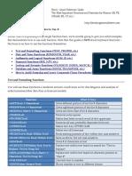 BIWS Excel Functions Formulas