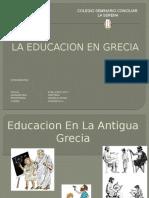 Presentacion 3ºa Educacion Griega