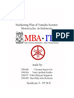 Marketing Plan Yamaha Syndicate 5 2