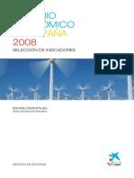 Anuario Económico de España 2008 (Seleccion de Indicadores)