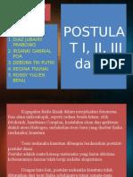 POSTULAT 1,2,3,4. Kelompok 1.pptx
