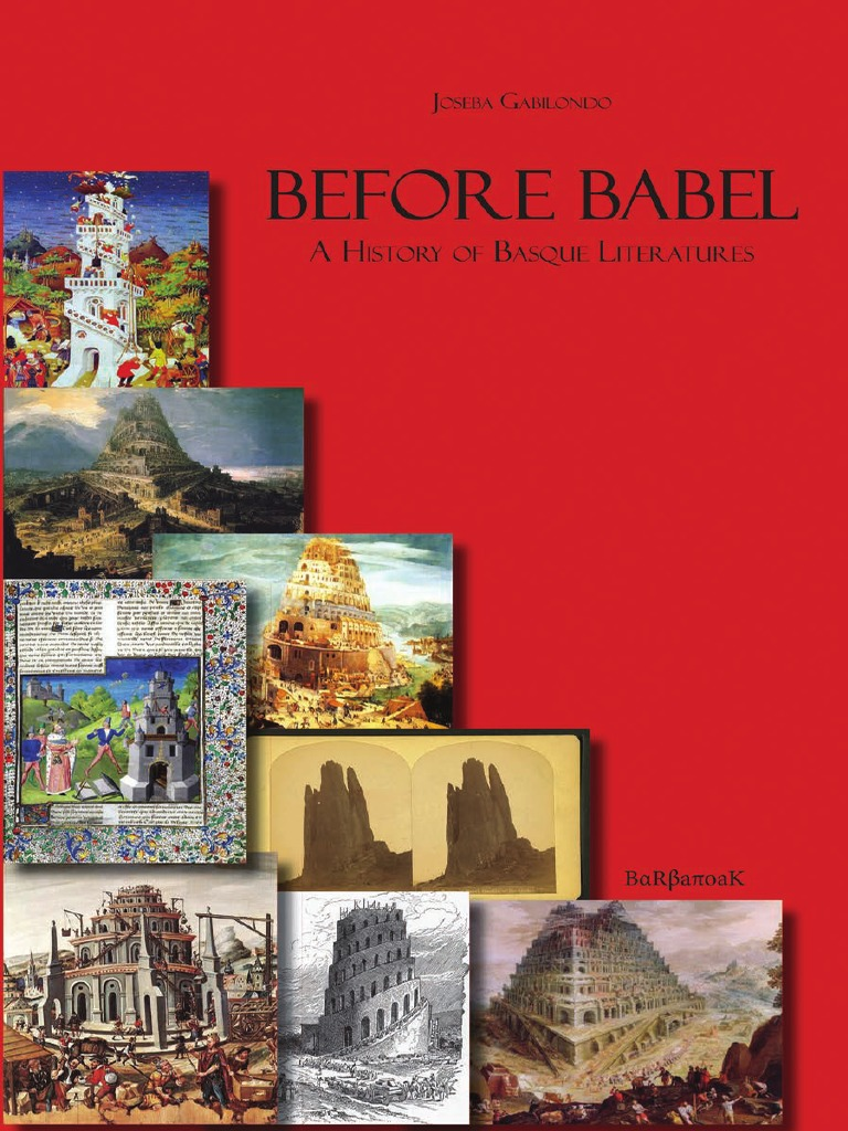 Before_Babel_A_History_of_Basque_Literat pdf | Spain | Languages