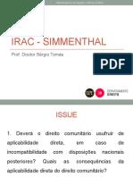 IRAC - Simmenthal 2