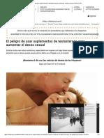 El Peligro de Usar Suplementos de Testosterona Para Aumentar El Deseo Sexual _ El Diario NY