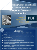 Osteopathic Structural Exam