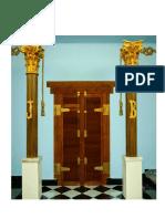 As Duas Colunas Do Templo de Salomão