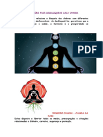 Afirmações Para Desbloquear Cada Chakra