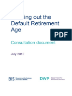 Phasing out the Default Retirement Age