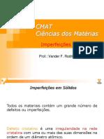 007 CMAT - Imperfeições Cristalinas