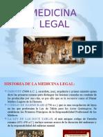 Medicina Legal Upao. Semana 01