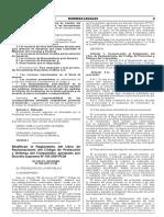 Decreto Supremo N° 058-2017-PCM