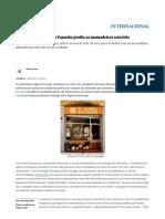 Restaurante Vegano Na Espanha Proíbe as Mamadeiras Com Leite _ Internacional _ EL PAÍS Brasil