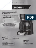 Cafetera Black & Decker