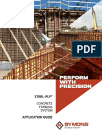 Steel-Ply Concrete Forming System