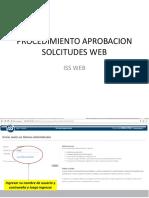 Procedimiento Aprobacion Solcitudes Web