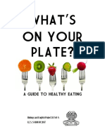 What's on Your Plate? 3º ESO A