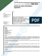 NBR 05026 - Catodo de cobre eletrolitico.pdf