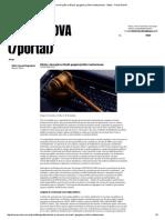 Direito e Inovação No Brasil - Gargalos Jurídico-Institucionais